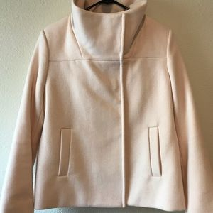 Old Navy Pink Wool Blazer